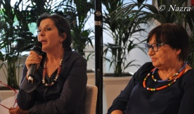 Gianna Bandini, President of the Association Anémic, Florence Luisa Morgantini, President of Nazra – PSFF