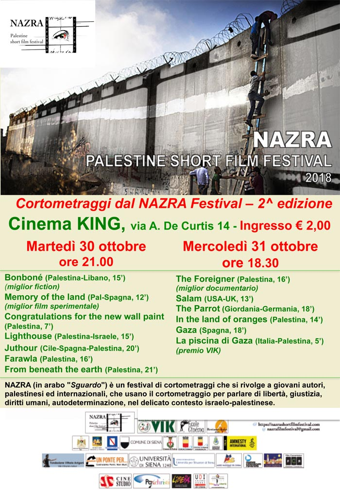 Palestine short film festival 2018 a Catania.pptx