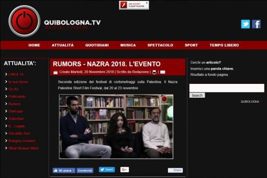 Presentazione Bologna QUIBOLOGNA.TV