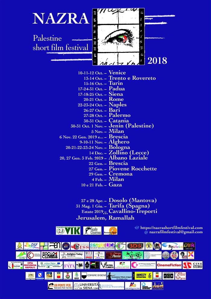 Manifesto calendario Web2