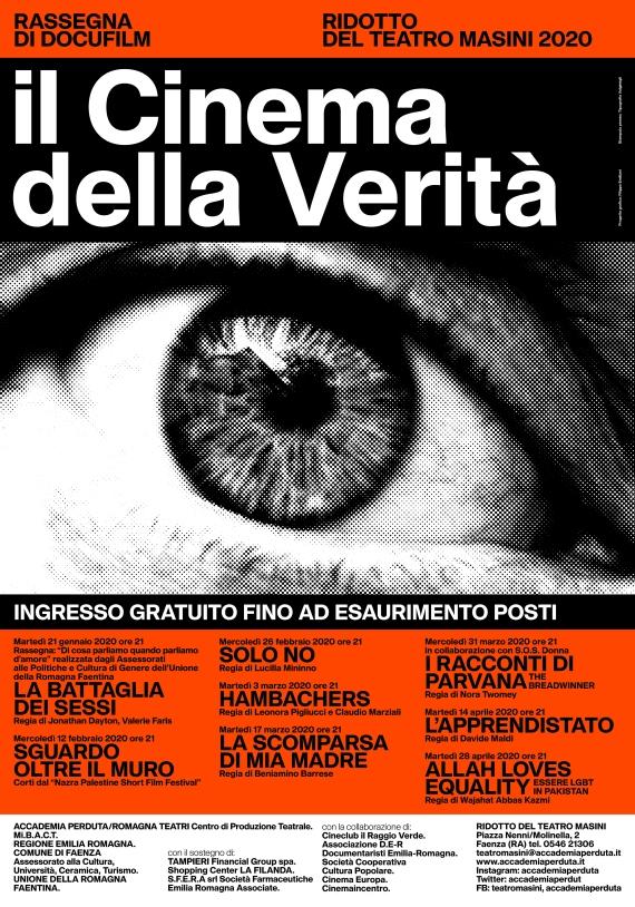CINEMA DELLA VERITA' 2020 manifesto
