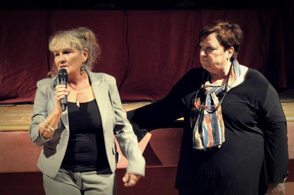 Meri Calvelli, presidente NAZRA, e Franca Bastianello, direttore esecutivo